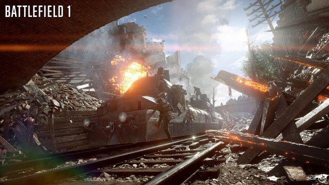 Battlefield 1: Zug © EA Games