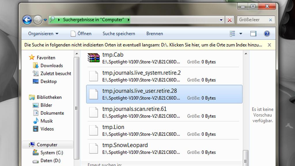 temporäre dateien finden windows 8