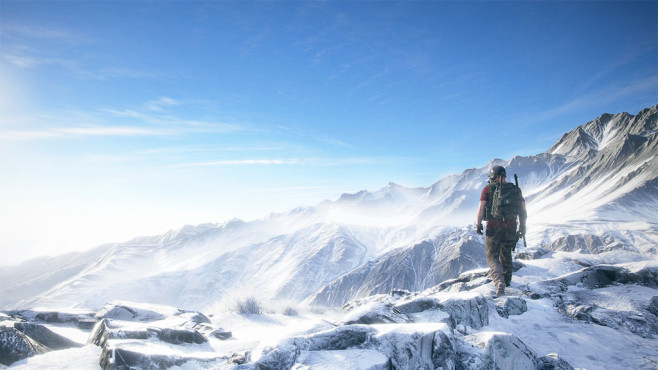 Ghost Reckon –  Wildlands: Berge © Ubisoft