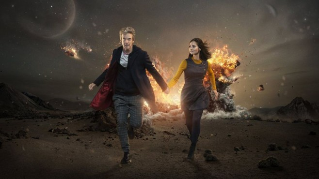 Doctor Who mit Peter Capaldi und Jenna Coleman © Amazon
