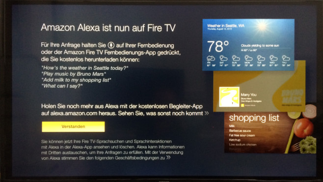 Amazon Fire TV mit Alexa ©COMPUTER BILD