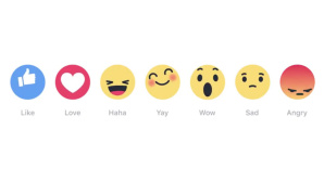Facebook Foto-Emojis ©Mark Zuckerberg/Facebook