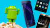 Android N © Android, HTC, Huawei, honor