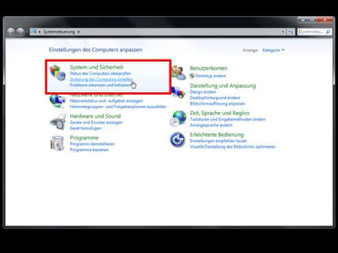 Windows: Image wiederherstellen ©COMPUTER BILD