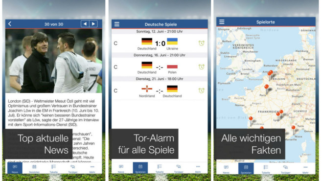 Pocket EM � Fu�ball Live Ticker © freenet.de GmbH