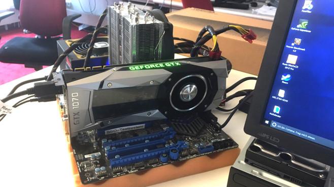 Nvidia Geforce GTX 1070 ©COMPUTER BILD