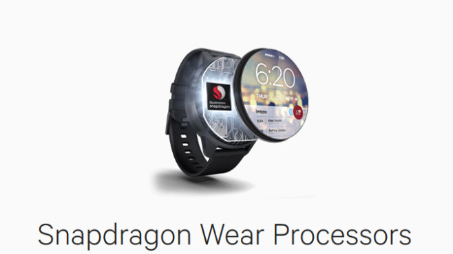 Snapdragon Wear Processors © Qualcomm
