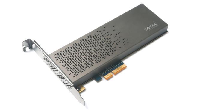 Zotac Sonix: Turbo-SSD ©Zotac