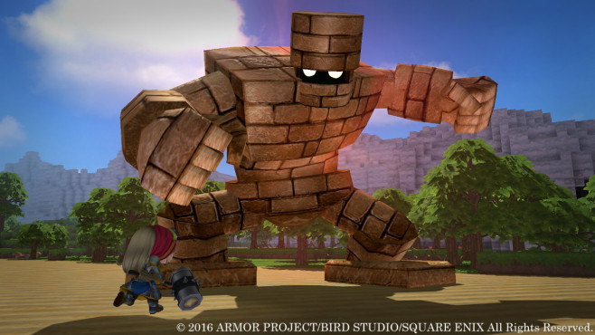 Dragon Quest Builders - Kampf © Square Enix