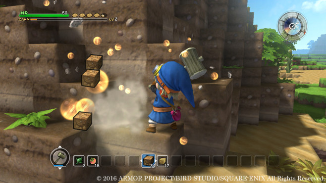 Dragon Quest Builders - Rohstoffe © Square Enix