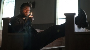 Preacher-Darsteller Jesse Custer (Dominic Cooper) ©Sony Televsion Inc/AMC