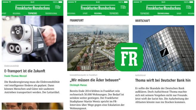 FR News ©Frankfurter Rundschau GmbH