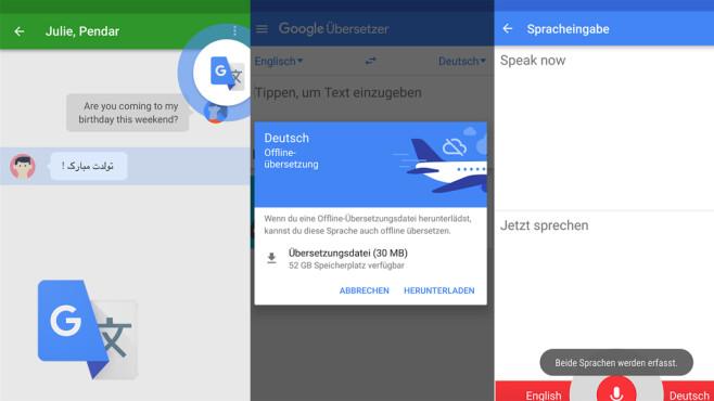 Google Übersetzer ©Google Inc