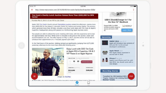 InstaWeb – Web to PDF Converter ©DIGISET LLC