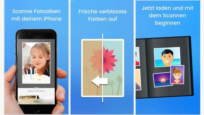 Unfade - Mobiler Foto Album Scanner ©doo GmbH