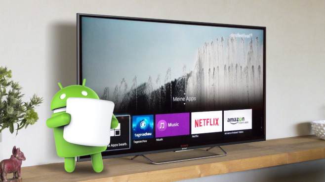 Marshmallow-TV ©Sony, Android