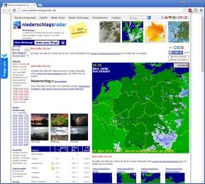 Niederschlagsradar Deutschland