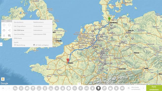 Falk-Routenplaner: Erlesenes Kartenmaterial vom Profi ©COMPUTER BILD