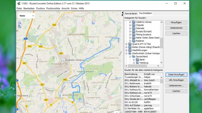 RouteConverter: Wegpunkt-Dateien umwandeln ©COMPUTER BILD