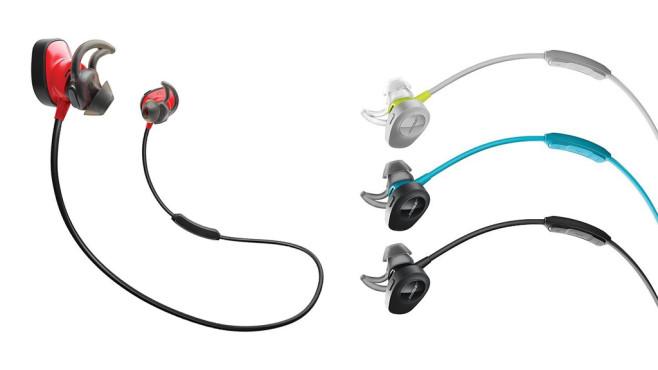 Neue Kopfhörer: Bose Soundsport und SoundSport Pulse ©Bose
