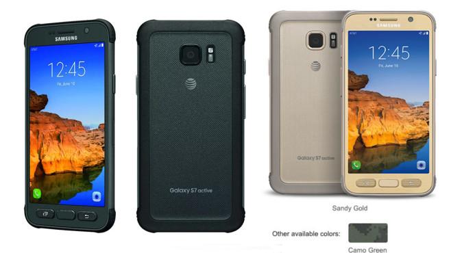 Samsung Galaxy S7 Active ©Samsung, AT&T