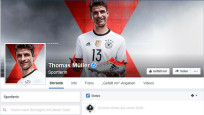 Thomas Müller bei Facebook © Screenshot: Facebook.com