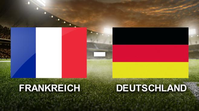 wo spielt deutschland gegen frankreich