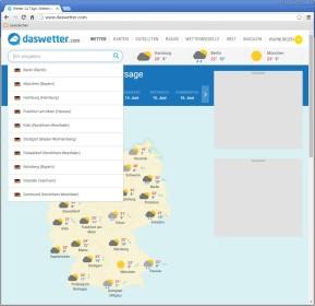 Das Wetter - 14 Tage Wettervorhersage