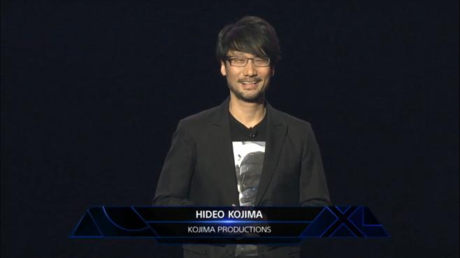 Hideo Kojima ©Sony, E3