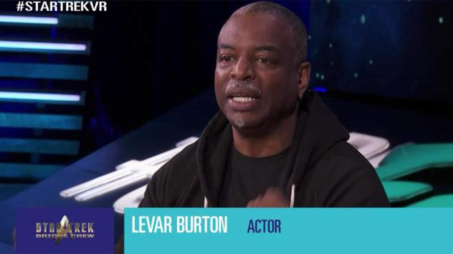 Levar Burton ©EA, Ubisoft