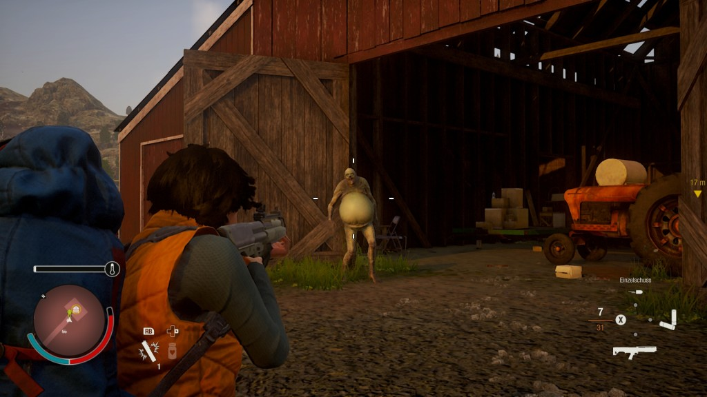 State of Decay 2 in the test: Zombie Simulator, the second