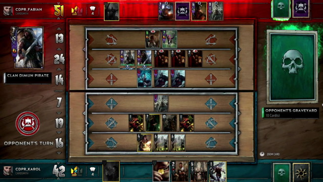 Gwent – The Witcher Card Game © CD Projekt Red