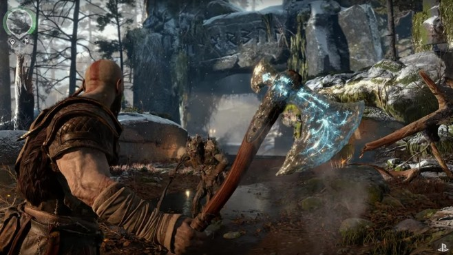 Screenshot God of War Gameplay Trailer © Sony