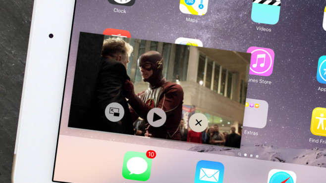 Netflix Bild-in-Bild © Apple, Marvel Studios