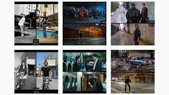 So sehen berühmte Drehorte heute aus ©Screenshot: https://www.instagram.com/phil_grishayev/
