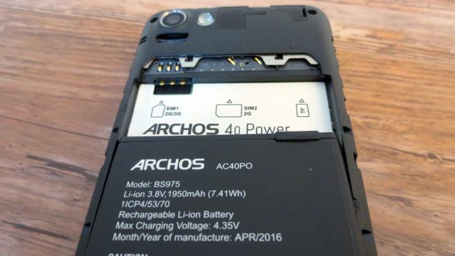 Archos 40 Power ©COMPUTER BILD
