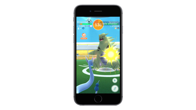 Pokémon GO: Raids © Niantic