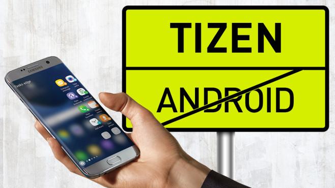 Tizen statt Android ©COMPUTER BILD, Samsung