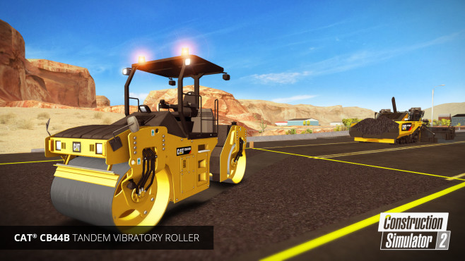 Bau-Simulator 2 Straßenbau ©Astragon
