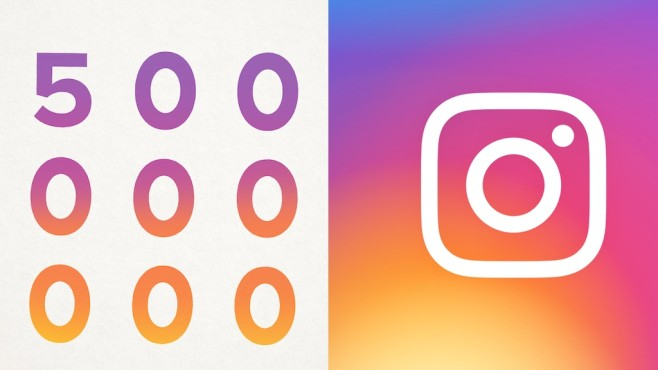 Instagram ©Instagram 500 Millionen