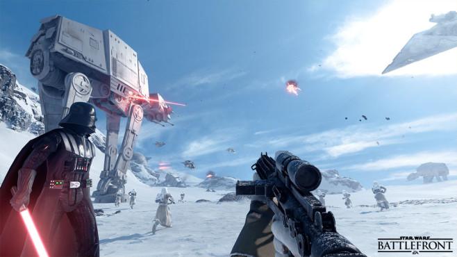 Star Wars –Battlefront: Offline-Modus ©Reddit