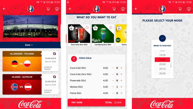 UEFA Deliver Me-App ausprobiert ©UEFA, Deliver Me-App