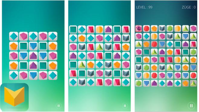 Puzzledrome – ein palindromisches Puzzlespiel ©Asinine Games Inc