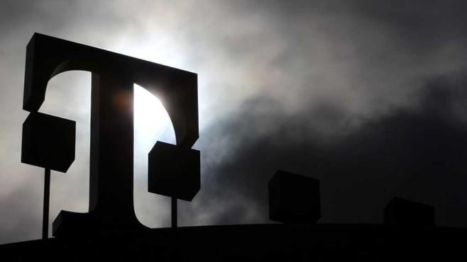 Logo der Telekom ©dpa-Bildfunk