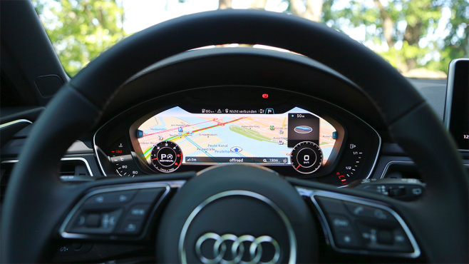 Audi Virtual Cockpit © COMPUTER BILD