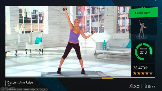 Xbox Fitness ©Microsoft