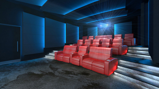 IMAX Private Theatre Pressefoto © IMAX