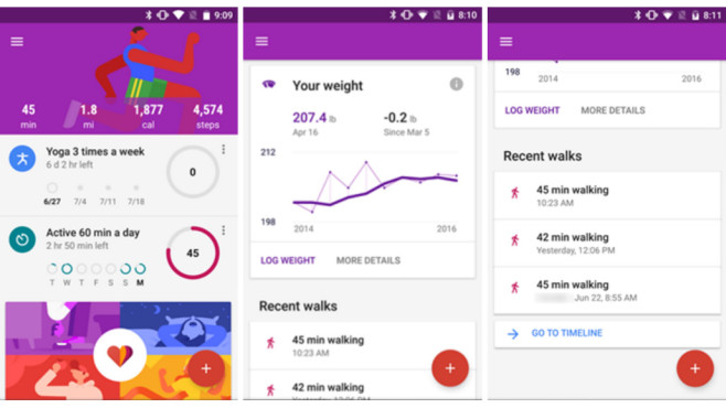 Google Fit Overview © Google