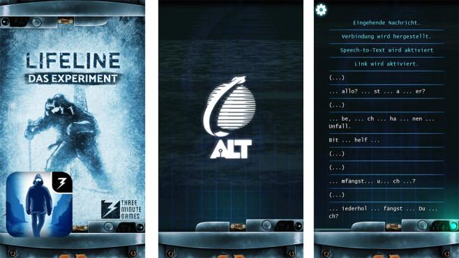 Lifeline – Das Experiment ©3 Minute Games LLC