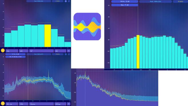 Spectrum Analyzer und Schallpegelmesser ©Elena Polyanskaya